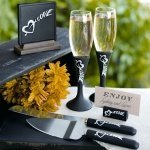 Chalkboard Wedding Accessories