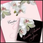 Classic Orchid Stationery Collection