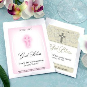 Personalized Communion Cocktail Mix Favors image