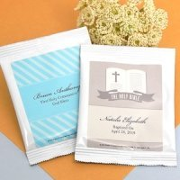 Personalized Hot Chocolate Communion Favors