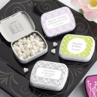 Damask Personalized Mint Tins (Many Designs)