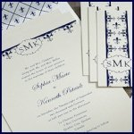 Fleur De Lis Stationery Collection