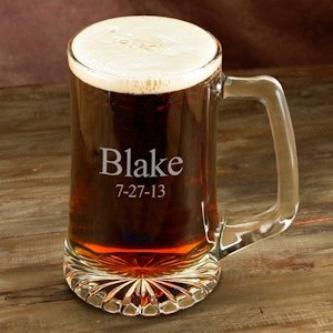 Personalized 25 oz Sports Mug Glasses image