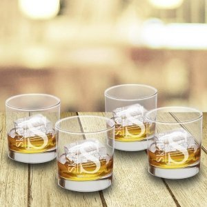 Personalized Lowball Glasses Set image