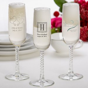 Printed Champagne Flutes image