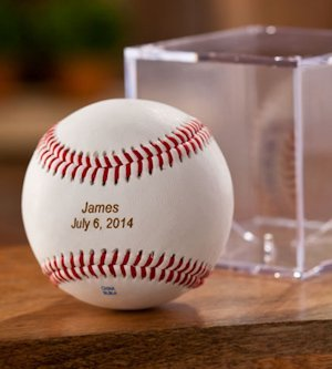 Personalized Rawlings Baseball with Case image