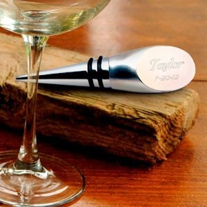 Engraved Wine Bottle Stopper image