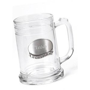 16 oz Mugs with Pewter Emblem (Groomsman-Best Man-Usher) image