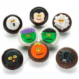 Chocolate Dipped Halloween Oreos image