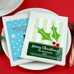 Custom Cappuccino Christmas Party Favors
