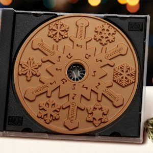 Milk Chocolate Snowflake CD (Case of 20) image