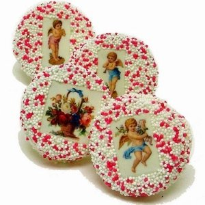 Vintage Victorian Wedding Cookie Favors image