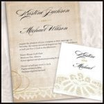 Vintage Lace Stationery Collection
