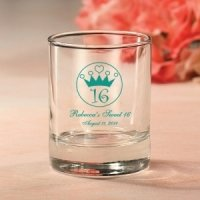 Personalized Sweet 16 Votive Candle Holder