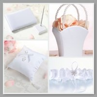 White Simplicity Wedding Collection